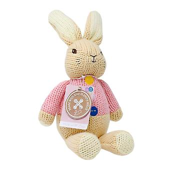 Made with Love Flopsy Bunny - Knitted Beatrix Potter Bunny