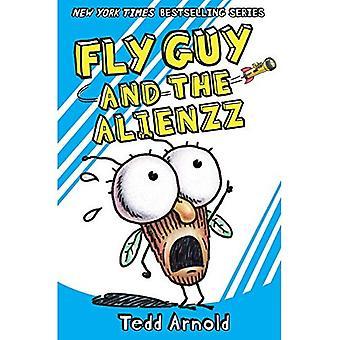 Homem mosca #18: Voar cara e o Alienzz