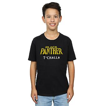 Marvel Boys Black Panther AKA T'Challa T-Shirt