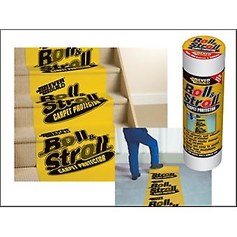 Everbuild Roll & Stroll Premium Carpet Protector 600mm x 25m