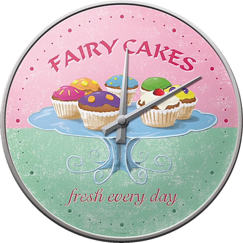 Fairy Cakes Wall Clock            (na)