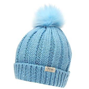 Firetrap Womens Cable Knit Hat Beanies