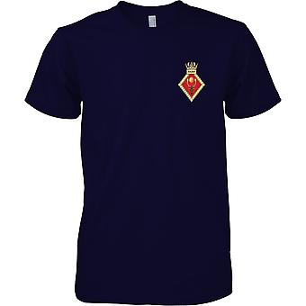 HMS Raleigh - Royal Navy Ufer Einrichtung T-Shirt Farbe