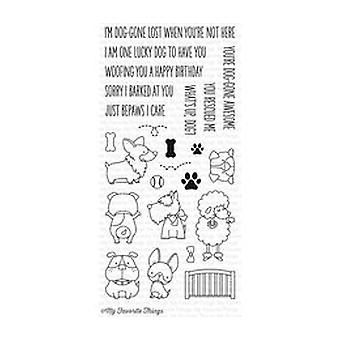 My Favorite Things Lucky Dog Clear Stamps (BB-32)