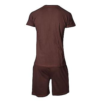 Star Wars Chewbacca Shortama Nightwear Set Male Medium - Brown (SI101300STW-M)