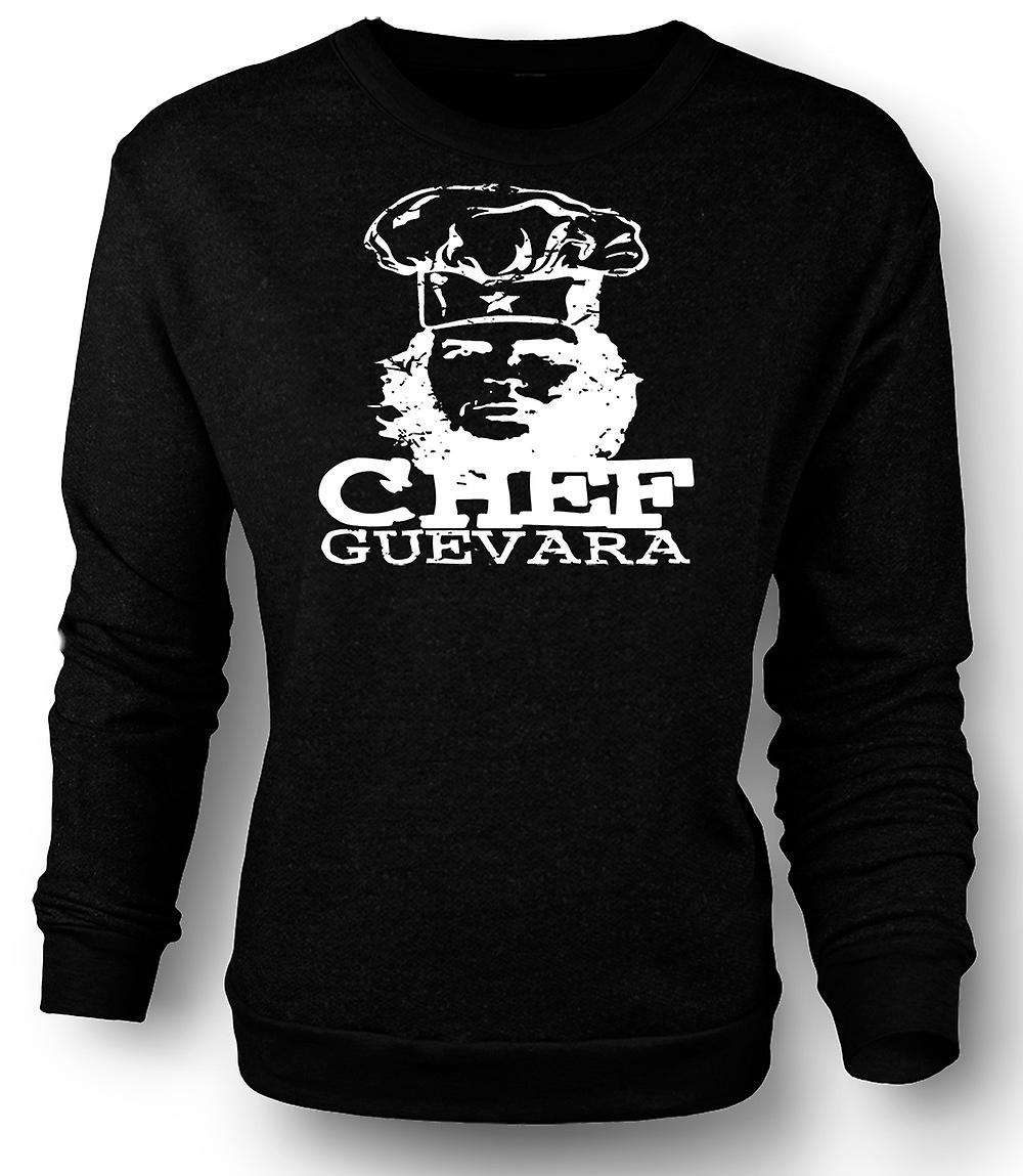 Mens Sweatshirt Chef Guevara Cool