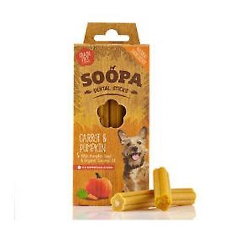 Soopa Carrot & Pumpkin Dog Dental Sticks