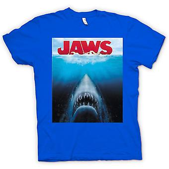 Barn T-shirt - Jaws vithaj - film