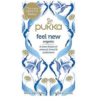 Pukka Feel New Tea Bags 80