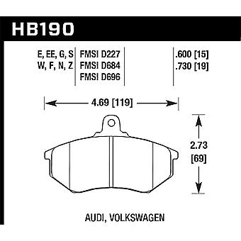 Hawk Performance HB190E.600 Bleu 9012