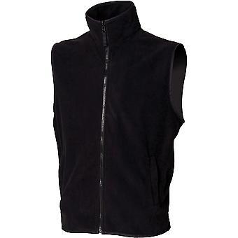 Henbury - Mens Sleeveless Microfleece Mens Jacket