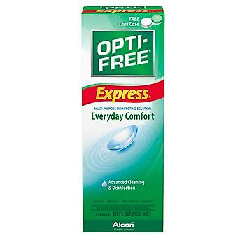 Opti-free express everyday comfort contact lens solution, 4 oz