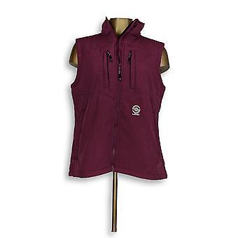 Lokigear.COM Vest Zip Front w/ Pockets Berry Purple