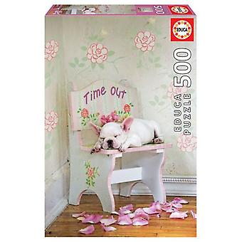 Educa Puzzle Taking A Breather 500 Pieces (Babies and Children , Toys , Boardgames)
