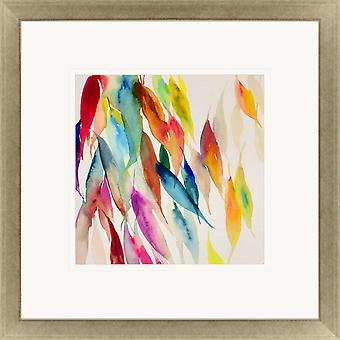 Fallen colorful leaves i contemporary style by paragon