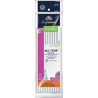 Elmer's CraftBond(R) All-Temp Less Mess Mini Glue Sticks-.27