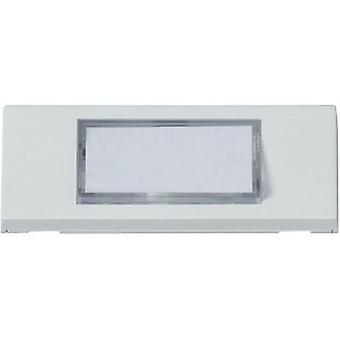 Panel de Bell con placa 1 x Heidemann 70049 blanco 24 V/1 un