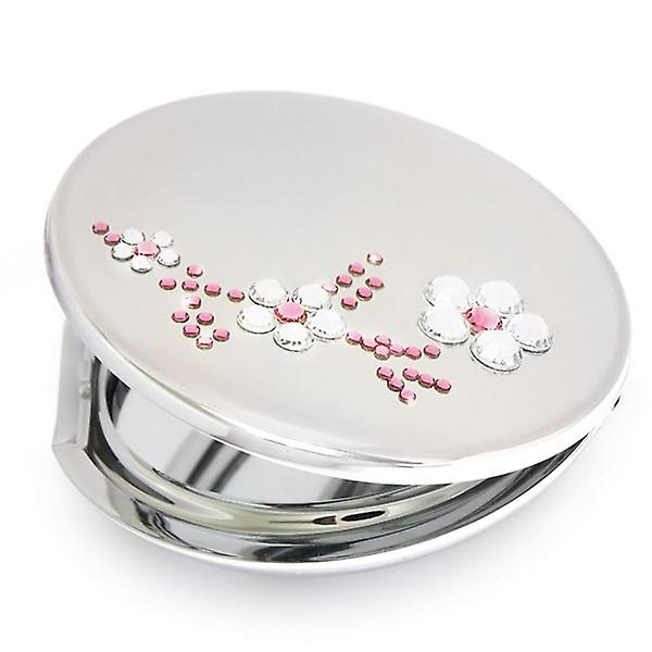 Pink compact mirror ACSP-21.1