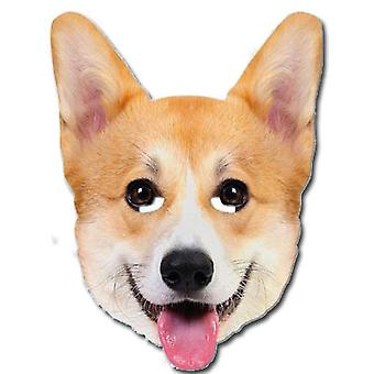 Dronningens kongelige Corgi hund enkelt kort Party ansigtsmaske