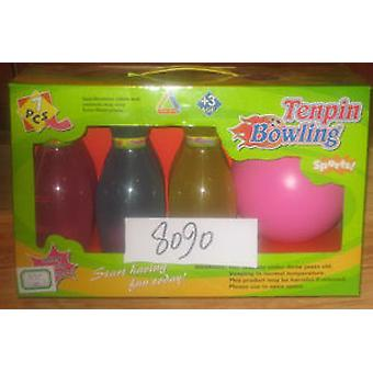 Import Bowling 6 Bowling De Luxe With Box (Outdoor , Sport)