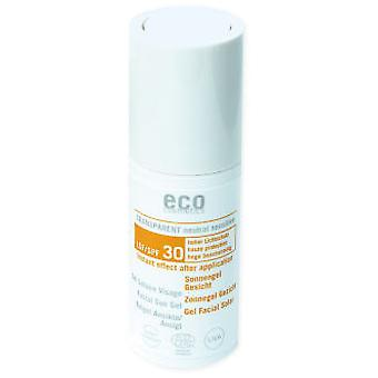 Eco Cosmetics Solar Facial Gel SPF 30 (Cosmetics , Facial , Sun protection)