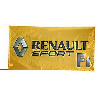 Large Renault F1 nylon flag  1500mm x 900mm  (of)
