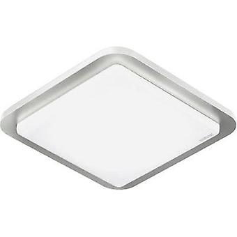 LED ceiling light (+ motion detector) 11 W Warm white Steinel RS LED D2 EVO 007928 Stainless steel, White