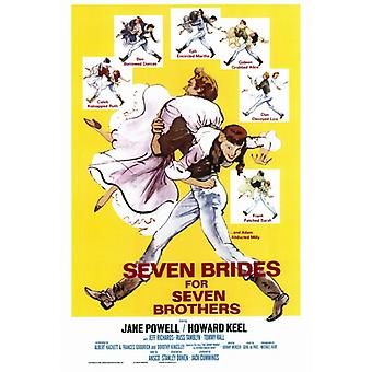 Seven Brides for Seven Brothers Movie Poster Print (27 x 40)
