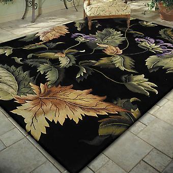 Nourison tropiques tapis TS05 Noir
