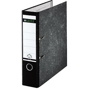 Leitz 180° Classic Marbled 10801095 DIN A4 Lever Arch Folder 80mm Width, Black