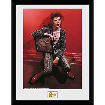 David Bowie krzesło Collector Print