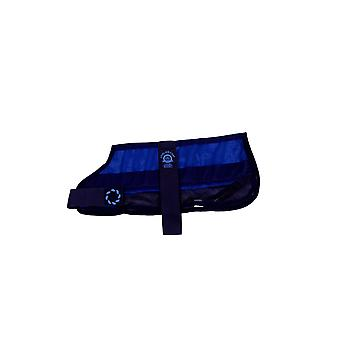 Cooling Dog Coat & Bag Navy Medium 16
