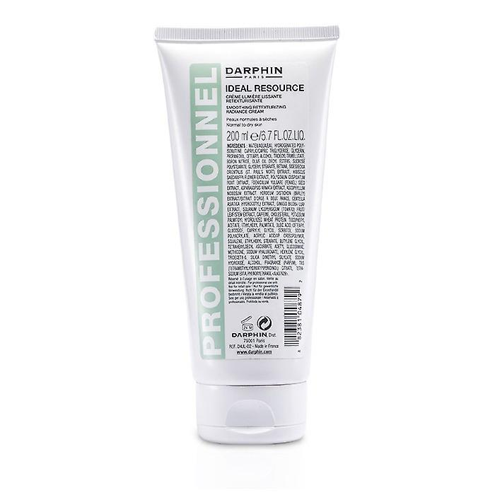 Darphin Ideal Ressource Glättung Retexturizing Radiance Cream (normale bis trockene Haut; Salon-Größe) 200 ml / 6.7 oz