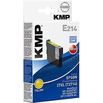 KMP Ink replaced Epson T2714, 27XL Compatible Yel