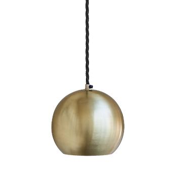 The Globe Collection Pendant Light - Brass - 6