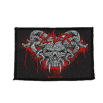 Slayer Demonic Woven Patch