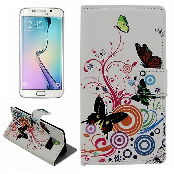 Cases Wallet pattern 2 for Samsung Galaxy S6 Edge G925 G925F