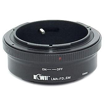 Kiwifotos Lens Mount Adapter: Allows Canon FD Lenses to be used on any Sony E-Mount Camera Body - NEX-3, NEX-C3, NEX-F3, NEX-5, NEX-5N, NEX-5R, NEX-6, NEX-7