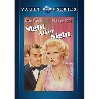 Night After Night [DVD] USA import