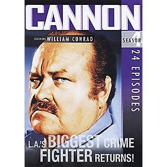 Kanon: Sæson 4 [DVD] USA import