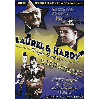 Laurel & Hardy Triple Feature [DVD] USA import