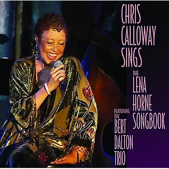 Chris Calloway - Sings the Lena Horn Songbook [CD] USA import