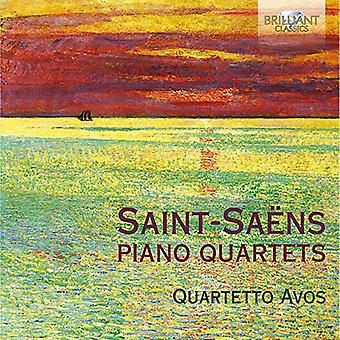 Quartetto Avos - Saint? Saens: Pianokvartetter [CD] USA import