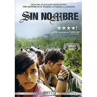 Sin Nombre [DVD] USA import