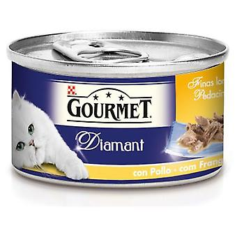Gourmet Diamond Fine Sliced Chicken (Cats , Cat Food , Wet Food)