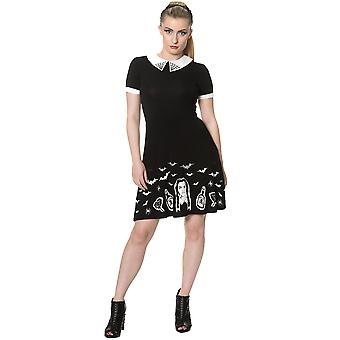 Banned - BLACK MAGIC DRESS - Women's Jersey Dress, Black