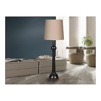 Schuller Lida Chess Piece Black Floor Lamp