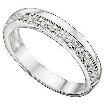 925 Silver Zirconia Ring Fashionable