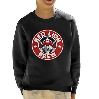 Voltron Red Lion brygga kaffe Kids tröja