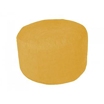 Pouf poly noble yellow Ø47 / 34 cm